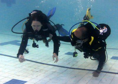 Mask swim Open water