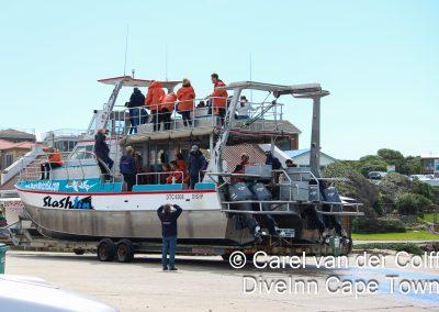 Ready to disembark
